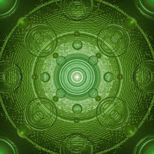 背景 緑模様の写真素材 [FYI00150321]