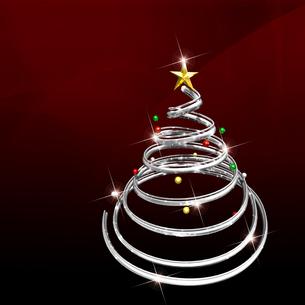 クリスマスツリーの写真素材 [FYI00150324]