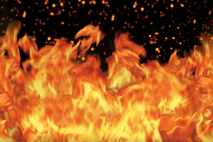 炎の写真素材 [FYI00150478]