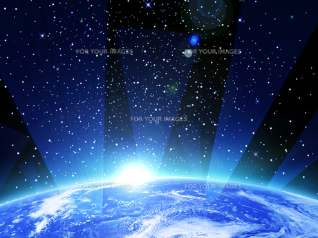 地球の写真素材 [FYI00150505]