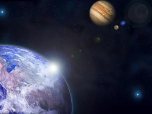 宇宙の写真素材 [FYI00150508]