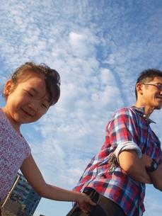 父と娘。の素材 [FYI00150656]
