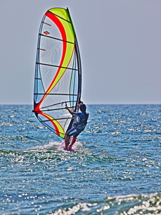 ウインドサーフィンの写真素材 [FYI00150688]