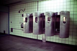 地下鉄の電話ボックスの写真素材 [FYI00150830]