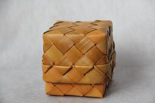 竹かごの写真素材 [FYI00150901]