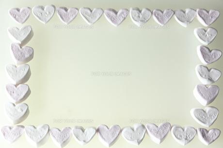 ハートのマシュマロの写真素材 [FYI00151024]