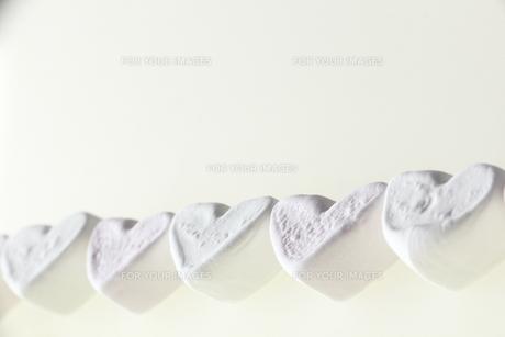 ハートのマシュマロの写真素材 [FYI00151030]