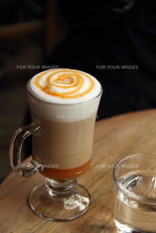 カラメルコーヒーの写真素材 [FYI00151196]