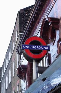 ロンドン 地下鉄表示の写真素材 [FYI00151321]