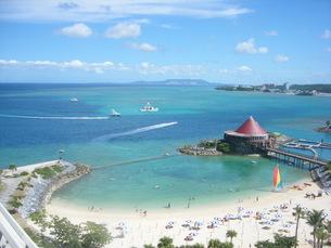 絵に描いたような沖縄の風景の写真素材 [FYI00151516]