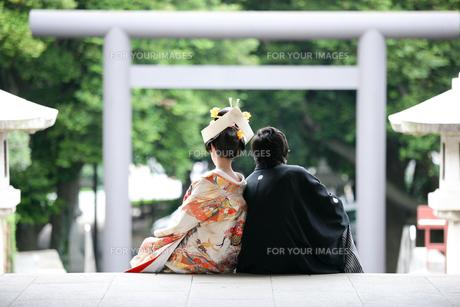 幸福の入り口の写真素材 [FYI00152082]