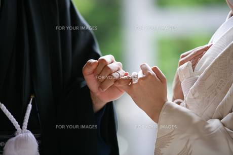 縁結びの写真素材 [FYI00152085]