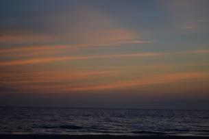 夕空の写真素材 [FYI00152135]