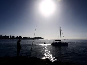 水と太陽の写真素材 [FYI00152385]