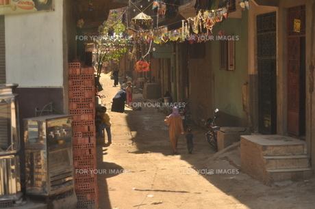 カイロ住宅裏の昼下がりの写真素材 [FYI00152403]