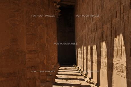 遺跡・並ぶ柱の写真素材 [FYI00152416]