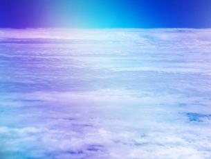 虹色の空の写真素材 [FYI00152486]