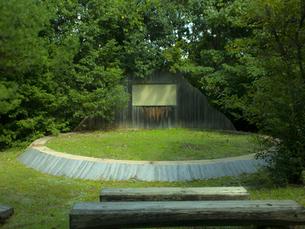 森のステージの写真素材 [FYI00152596]