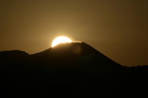 ダイヤモンド富士の写真素材 [FYI00152618]
