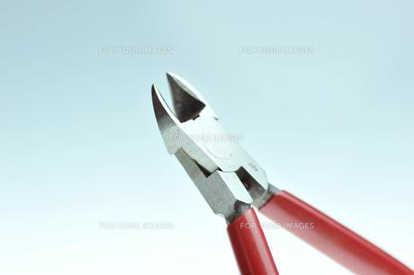 工具のニッパーの写真素材 [FYI00152639]