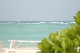 白浜と海の写真素材 [FYI00152652]