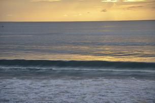 バリ島の夕日の写真素材 [FYI00152691]