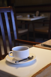 朝のコーヒーの写真素材 [FYI00152704]