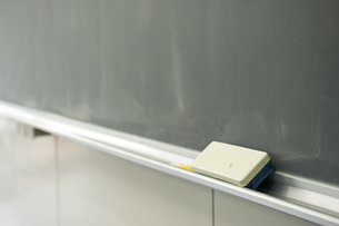 授業後の黒板の写真素材 [FYI00152719]