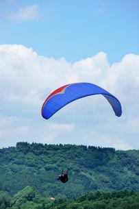 パラグライダーの写真素材 [FYI00152791]