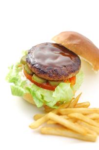 ハンバーガーの写真素材 [FYI00152805]