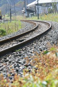 線路の写真素材 [FYI00152821]