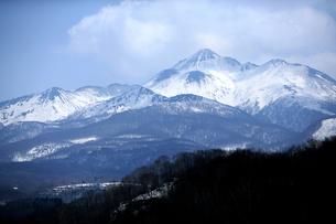 雪山の写真素材 [FYI00152830]