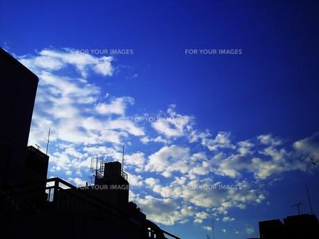青空と雲との素材 [FYI00152868]