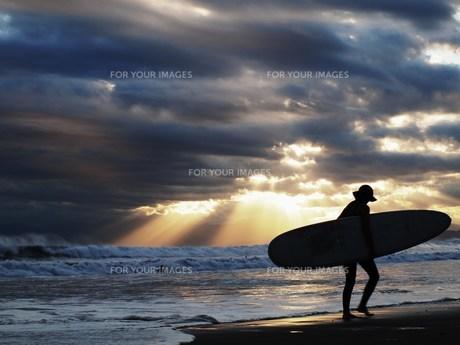 サーフィンの写真素材 [FYI00152875]