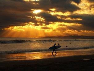 サーフィンの写真素材 [FYI00152886]