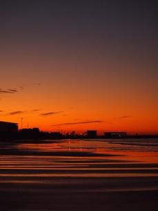 朝の江の島の写真素材 [FYI00152899]