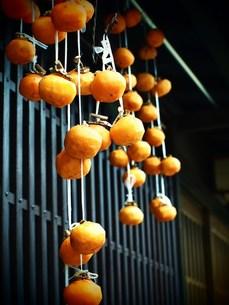 日本家屋の干し柿の素材 [FYI00152904]