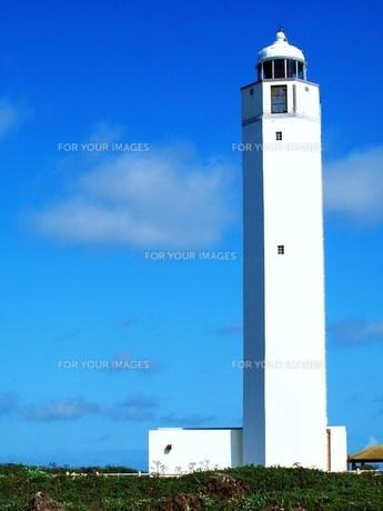 白い灯台の素材 [FYI00152906]