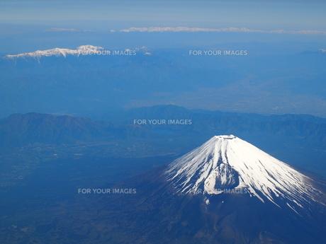 富士山上空の素材 [FYI00152921]