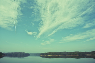 狭山湖と雲_001の素材 [FYI00153161]