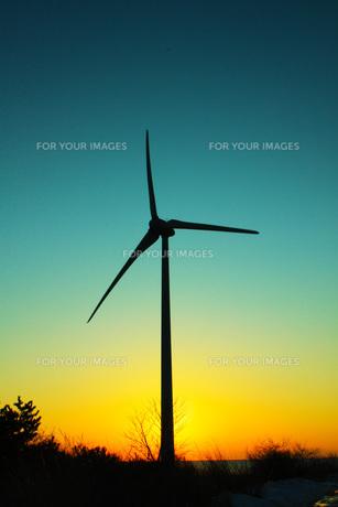風車の写真素材 [FYI00153192]