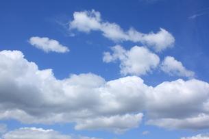 青空 綿雲の写真素材 [FYI00153250]