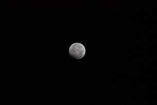月蝕の写真素材 [FYI00153252]