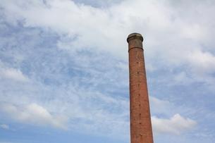 レンガの煙突の写真素材 [FYI00153256]