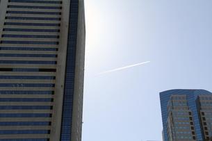 飛行機雲の写真素材 [FYI00153260]