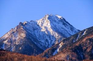 険しい山の写真素材 [FYI00153293]