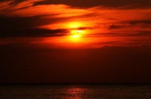 夕日の素材 [FYI00153304]