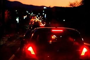 渋滞の写真素材 [FYI00153321]