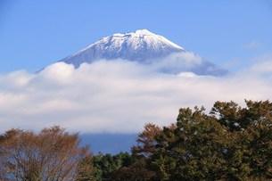 雲から山頂現るの写真素材 [FYI00153322]