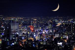 夜景の写真素材 [FYI00153798]